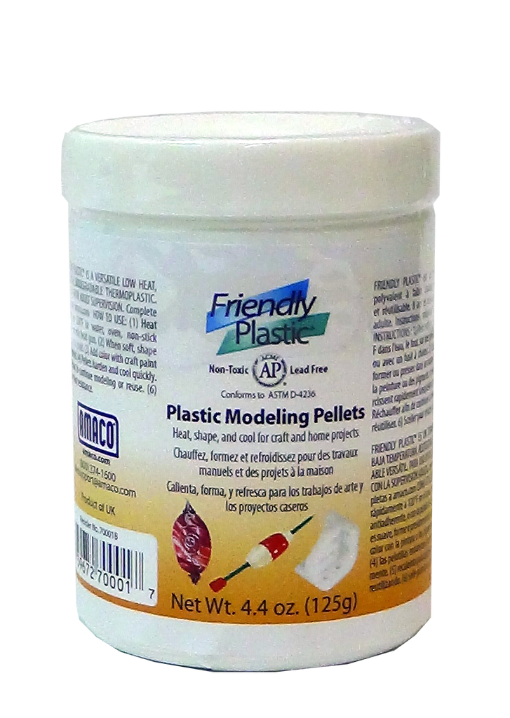 Friendly Plastic plastic modeling pellets 4.4 oz