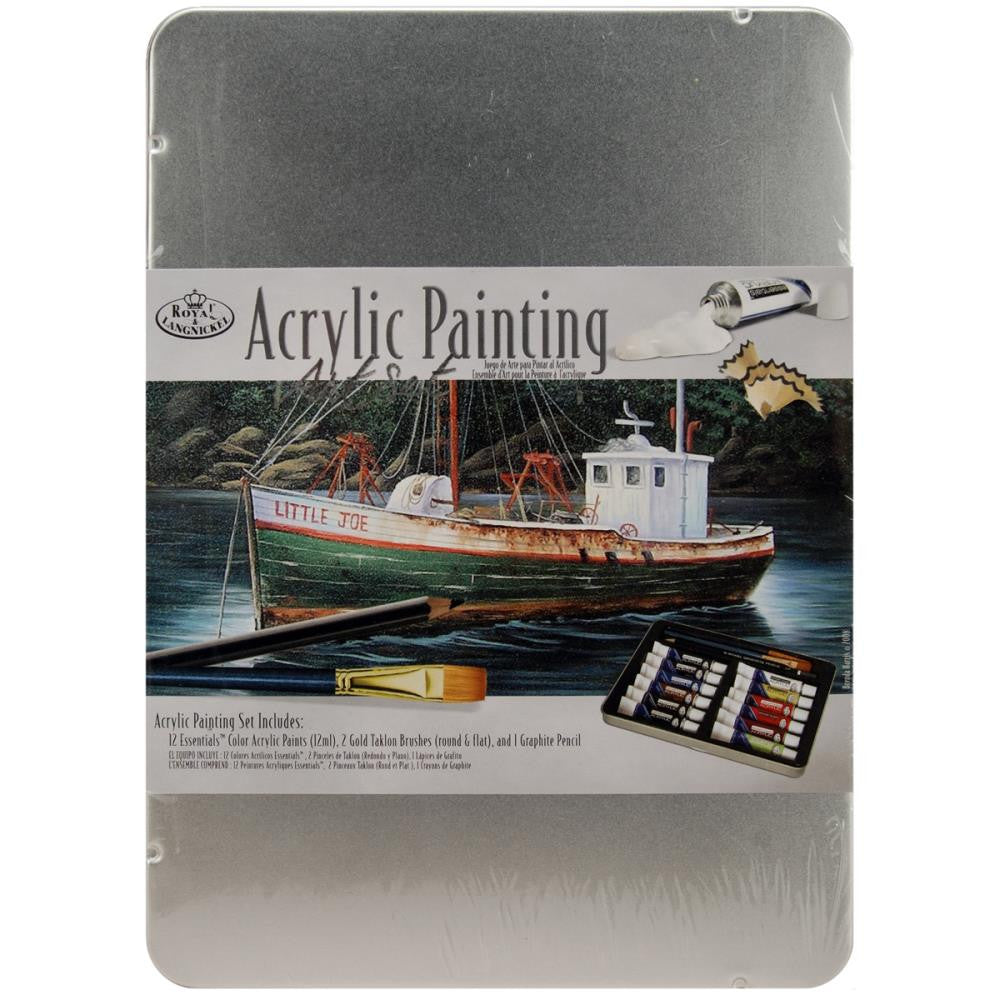 Acrylic Paint Set (12ml tubes)