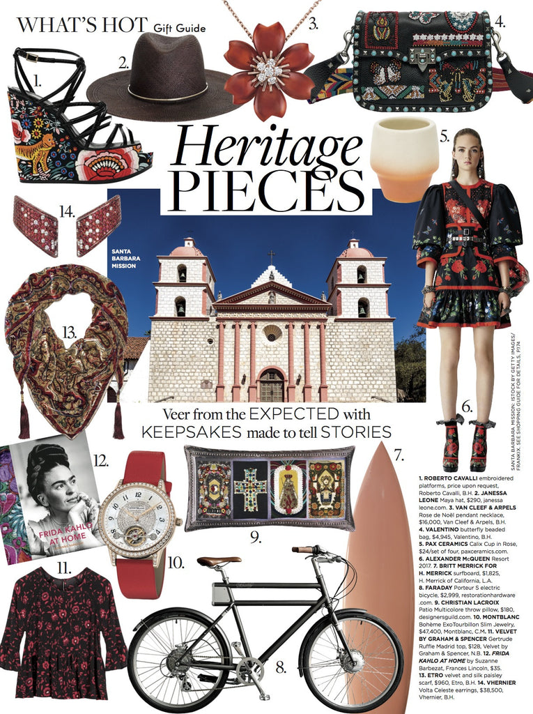 C Magazine Heritage Pieces gift guide