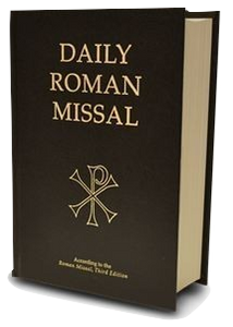 Daily Roman Missal, 7th Edition (Hardcover, Black)