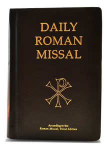 Daily Roman Missal, 7th Ed., Genuine Leather, Black - Scepter Publishers