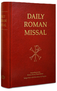 Daily Roman Missal w/ Devotions and Prayers, 7th Ed., Large Print, Hardcover - Scepter Publishers
