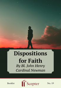 Dispositions for Faith - Scepter Publishers