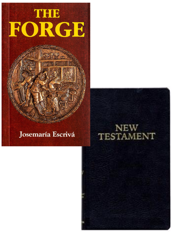 The Forge & Pocket New Testament Confirmation Set - Scepter Publishers
