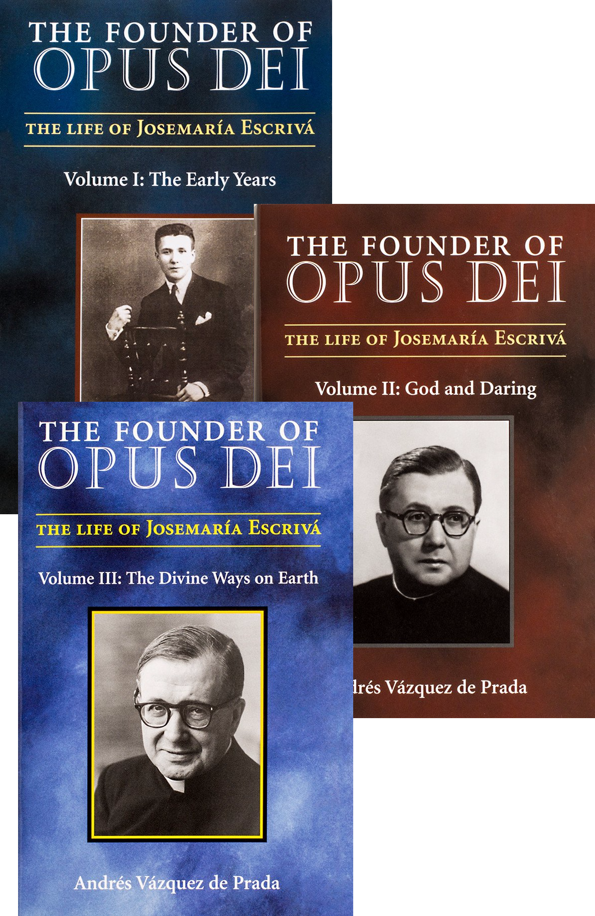 The Founder of Opus Dei Full Set - Scepter Publishers