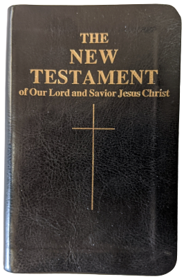 Confraternity Pocket New Testament, New Leatherette Cover! - Scepter Publishers