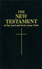 Vinyl Confraternity Pocket New Testament - Scepter Publishers
