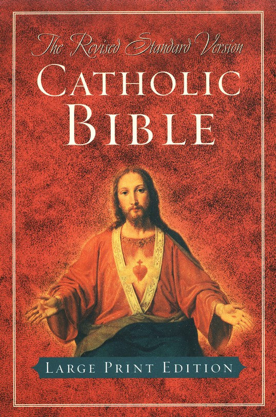 RSV Catholic Bible, Large Print Edition Indexed - Scepter Publishers