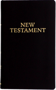 RSV Leather Pocket New Testament - Scepter Publishers