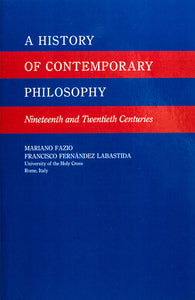 A History of Contemporary Philosophy - Scepter Publishers