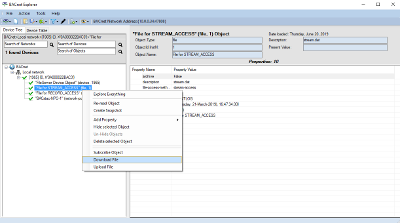 New BACnet Explorer with File Transfer and more writable properties.