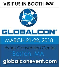 Visit GLOBALCON in Boston! March 21-22 at the Hynes Convention Center.
