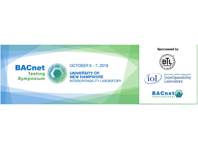 International BACnet Testing Symposium - Call for Presenters