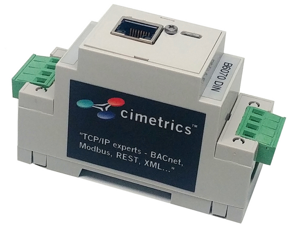 BACnet/IP to 4 Utility Meters (pulse - B6070)