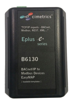 BACnet Interface to Modbus Devices (B6130)