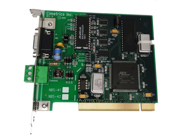NBS-41 PCI RS-485 Serial Interface Card (opto-isolated)
