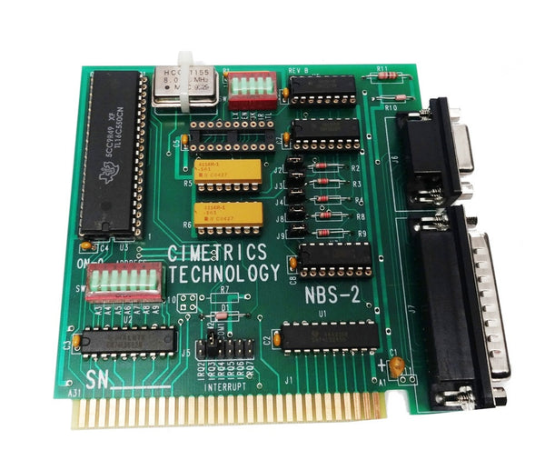 NBS-2 ISA Bus RS-485 Serial Interface Card