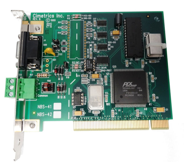 NBS-42 PCI RS-485 Serial Interface Card (non-isolated)