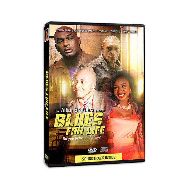 Blues For Life Movie and Soundtrack / Dvd and Cd