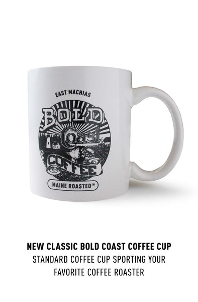 Classic 12oz. White Coffee Mug