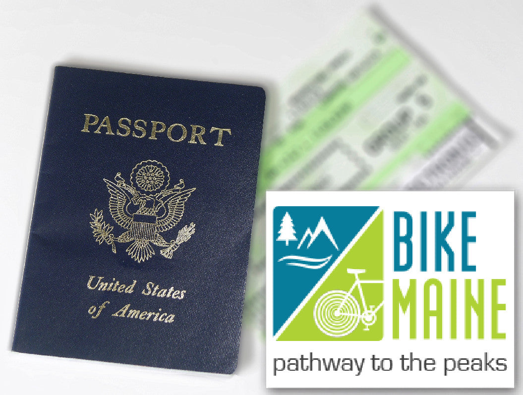 Bike Maine Passport