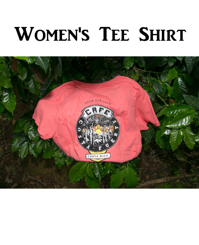Women's  Coral BCC Tee