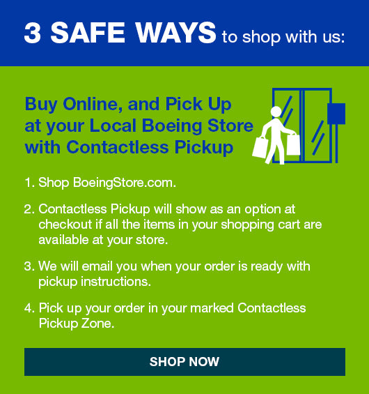 3 Safe Ways to Shop at the Boeing Store