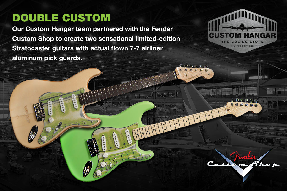 Boeing Custom Fender Guitars