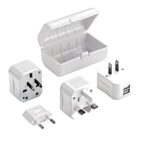 Adapter Plug Kit with Dual USB Charge