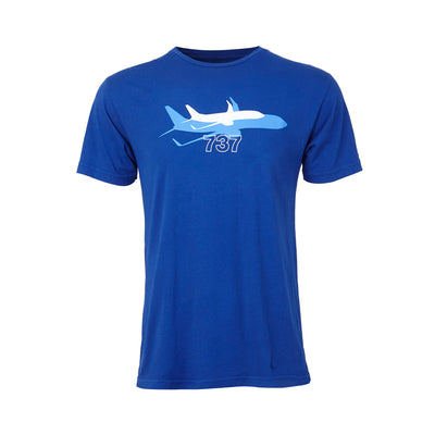 Boeing Shadow Graphic 737 T-Shirt