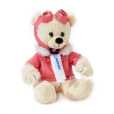 Small Boeing Aviator Bear - Beige (2845545070714)