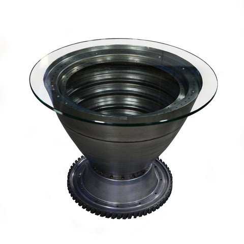 747-400 RB211 Engine Spinner Table - Blue Base