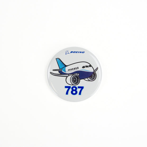 Boeing 787 Pudgy Button