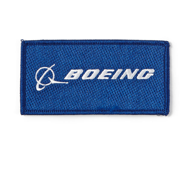 Boeing Logo Embroidered Patch (11833857036)
