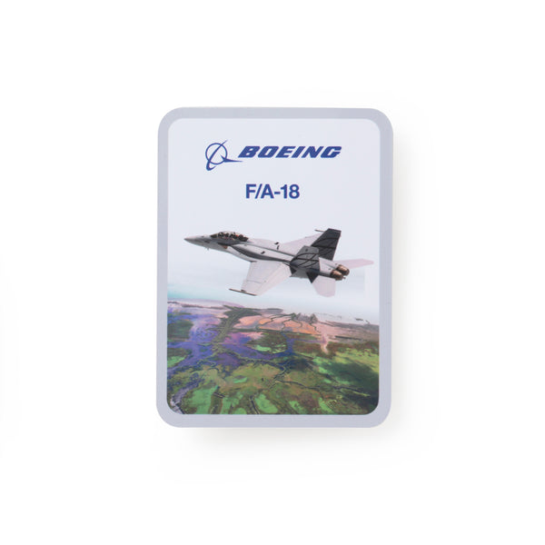 Boeing Endeavors F/A-18 Sticker