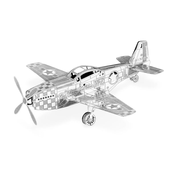 Metal Earth Boeing P-51 Mustang (6412939398)