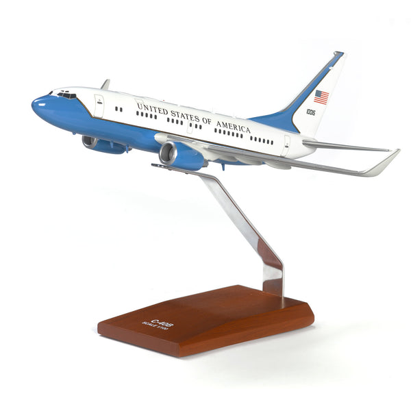 C-40B Special-Mission Aircraft Wood Model