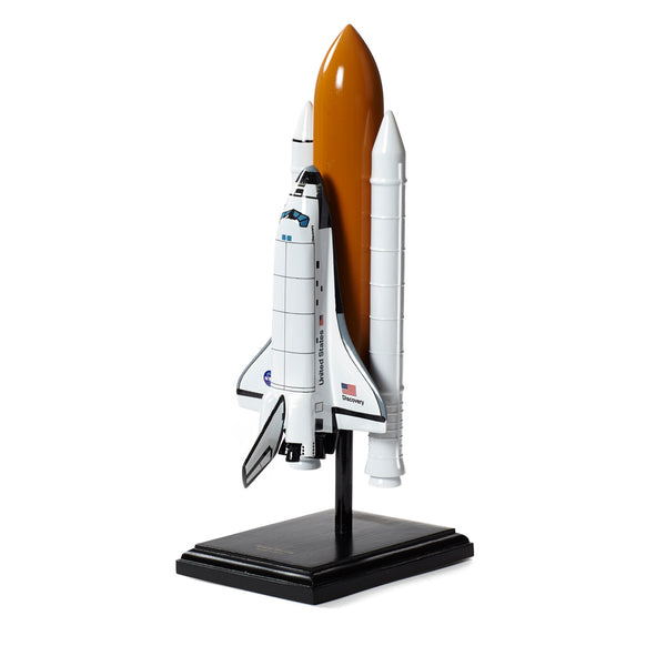 Full Stack Space Shuttle Wood 1:200 Model