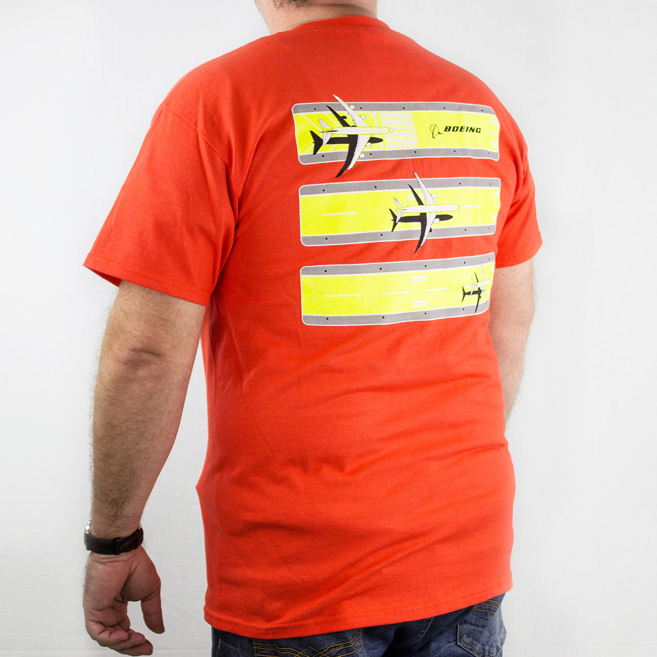 Boeing 3 Stripe Safety Tee – The Boeing Store