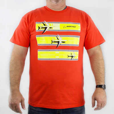 Boeing 3 Stripe Safety Tee (2539029889146)