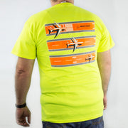 Boeing 3 Stripe Safety Tee