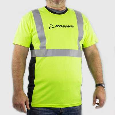 Boeing Safety Reflective T-Shirt (2539030446202)