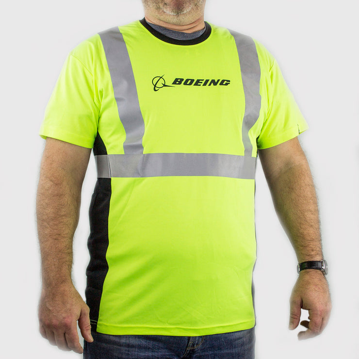 Boeing Safety Reflective T-Shirt