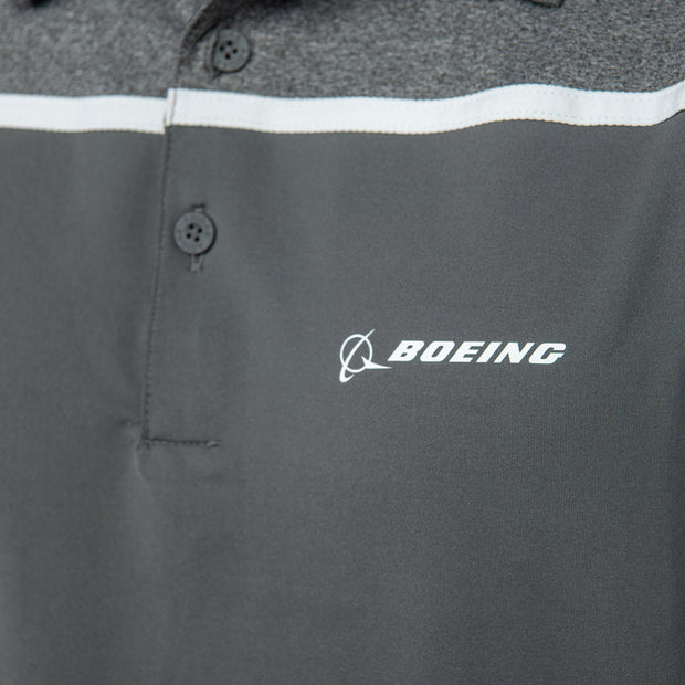 Adidas Boeing Color Block Polo