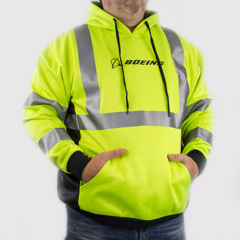 Boeing Safety Reflective Hoodie