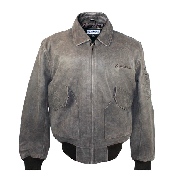 Boeing Leather Bomber Jacket (6408851654)