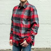 Yarn Dye Flannel Shirt Jacket