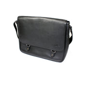 Boeing Symbol Leather Messenger Bag