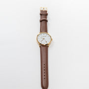Boeing Women's Gold Rotating Airplane Watch (2941310566522)