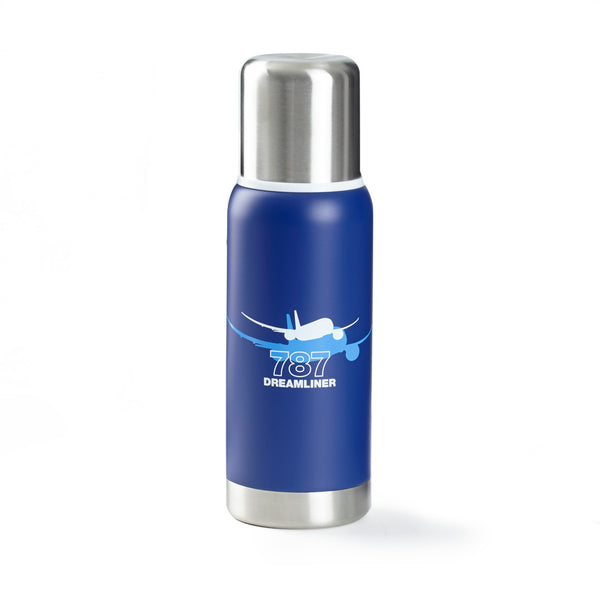 787 Dreamliner Shadow Graphic Thermos